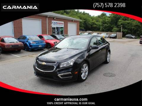 2015 Chevrolet Cruze for sale at CARMANIA LLC in Chesapeake VA