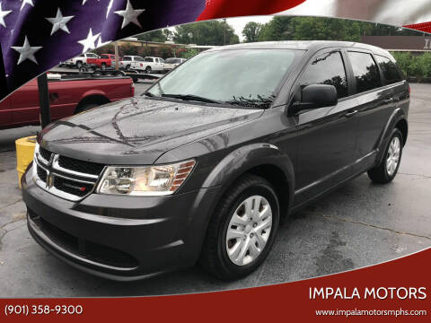 2014 Dodge Journey for sale at IMPALA MOTORS in Memphis TN