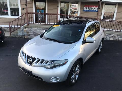 2010 Nissan Murano for sale at Lux Car Sales in South Easton MA