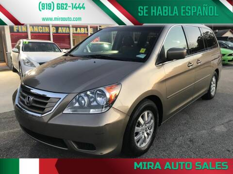 2010 Honda Odyssey for sale at Mira Auto Sales in Raleigh NC