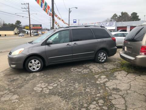 2004 Toyota Sienna for sale at AFFORDABLE USED CARS in Richmond VA