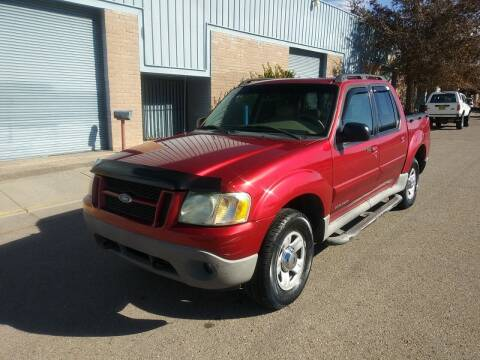 2002 Ford Explorer Sport Trac for sale at One Community Auto LLC in Albuquerque NM