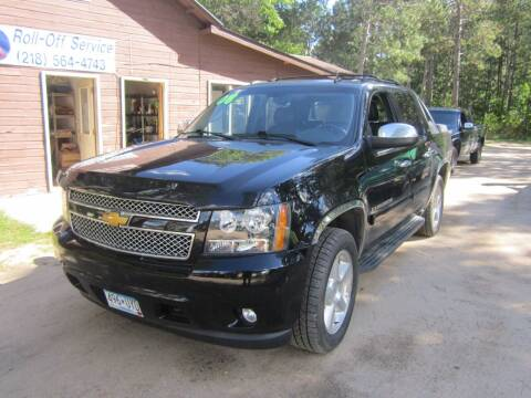 2008 Chevrolet Avalanche for sale at SUNNYBROOK USED CARS in Menahga MN