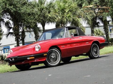 1987 Alfa Romeo Spider for sale at SURVIVOR CLASSIC CAR SERVICES in Palmetto FL
