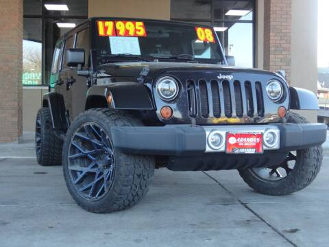 2008 Jeep Wrangler Unlimited for sale at Arandas Auto Sales in Milwaukee WI