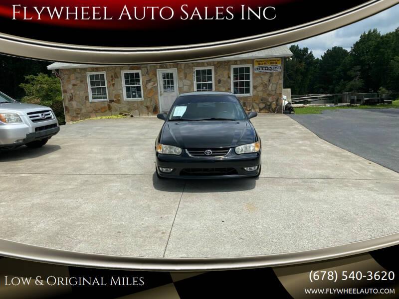 2001 Toyota Corolla for sale at Flywheel Auto Sales Inc in Woodstock GA