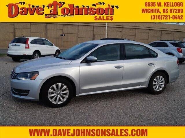 2015 Volkswagen Passat for sale at Dave Johnson Sales in Wichita KS