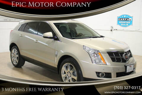 2010 Cadillac SRX for sale at Epic Motor Company in Chantilly VA