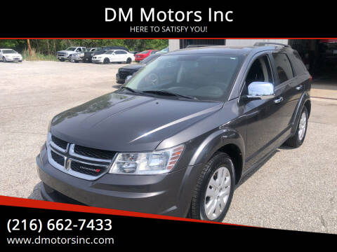 2014 Dodge Journey for sale at DM Motors Inc in Maple Heights OH