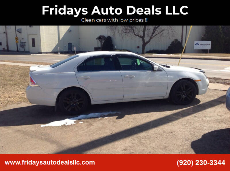 2008 Ford Fusion for sale at Fridays Auto Deals LLC in Oshkosh WI