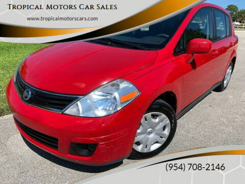 2011 Nissan Versa for sale at Tropical Motors Car Sales in Deerfield Beach FL