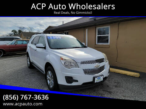 2011 Chevrolet Equinox for sale at ACP Auto Wholesalers in Berlin NJ