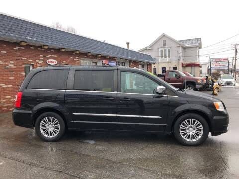 2013 Chrysler Town and Country for sale at RAYS AUTOMOTIVE SERVICE CENTER INC in Lowell MA