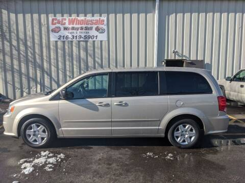 2012 Dodge Grand Caravan for sale at C & C Wholesale in Cleveland OH