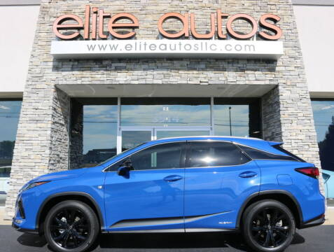 2021 Lexus RX 450h for sale at Elite Autos LLC in Jonesboro AR