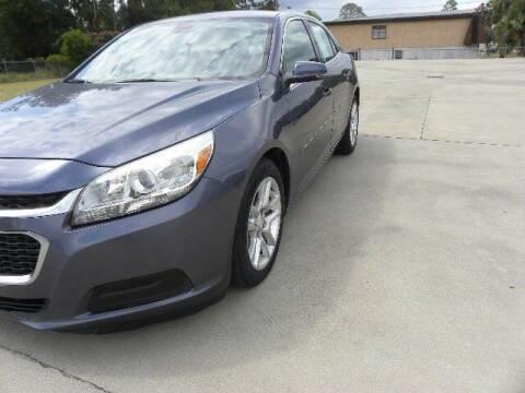 2015 Chevrolet Malibu for sale at VANN'S AUTO MART in Jesup GA