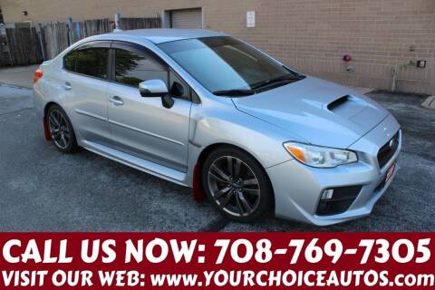2016 Subaru WRX for sale at Your Choice Autos in Posen IL