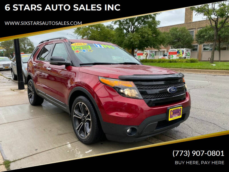 2013 Ford Explorer for sale at 6 STARS AUTO SALES INC in Chicago IL
