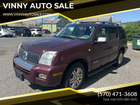2008 Mercury Mountaineer for sale at VINNY AUTO SALE in Duryea PA