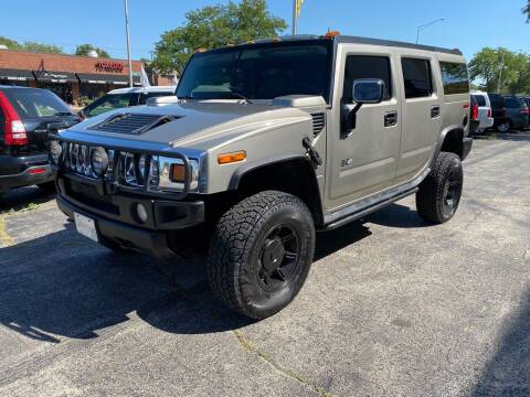 2003 HUMMER H2 for sale at AUTOSAVIN in Elmhurst IL