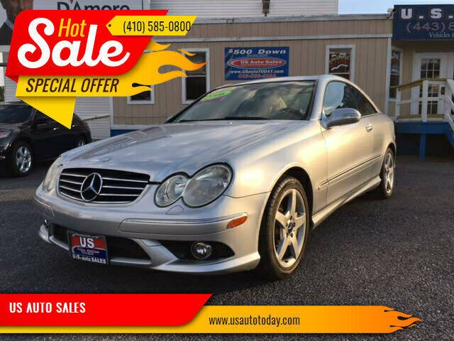 2006 Mercedes-Benz CLK for sale at US AUTO SALES in Baltimore MD