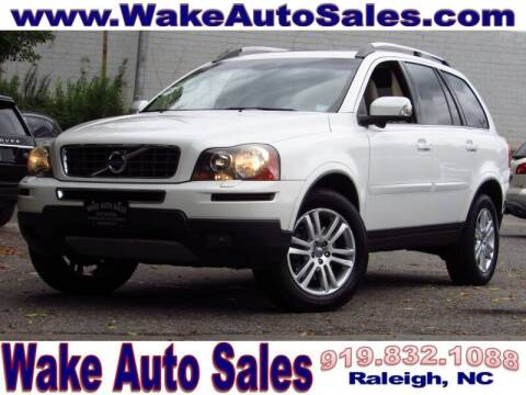 2010 Volvo XC90 for sale at Wake Auto Sales Inc in Raleigh NC