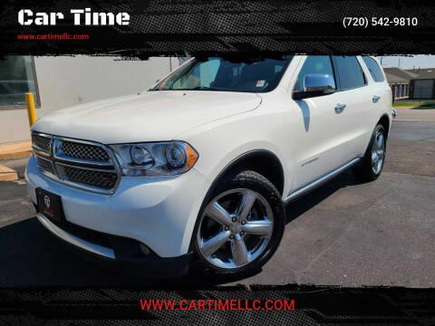 2012 Dodge Durango for sale at Car Time in Denver CO