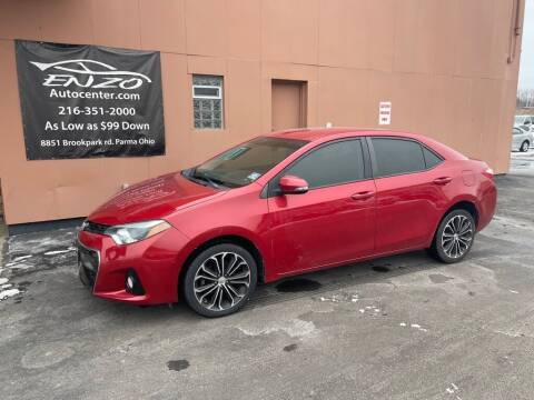 2014 Toyota Corolla for sale at ENZO AUTO in Parma OH