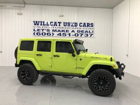 2016 Jeep Wrangler Unlimited for sale at Wildcat Used Cars in Somerset KY