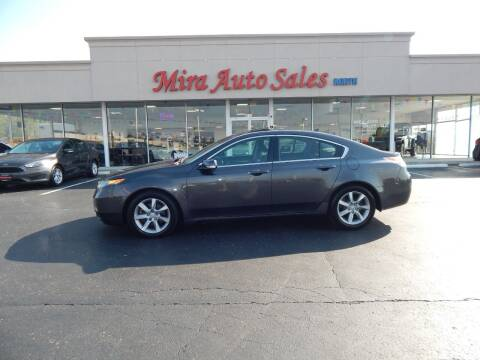 2012 Acura TL for sale at Mira Auto Sales in Dayton OH