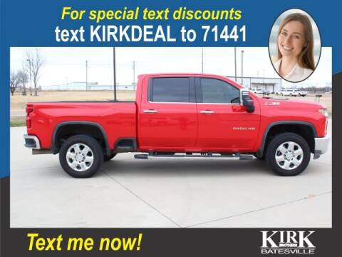 2020 Chevrolet Silverado 2500HD for sale at Kirk Brothers Batesville in Batesville MS