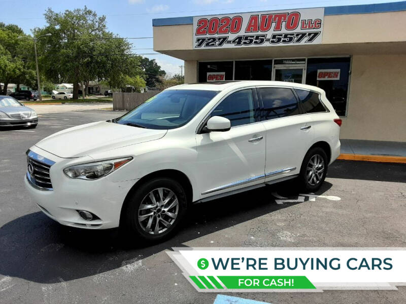 2013 Infiniti JX35 for sale at 2020 AUTO LLC in Clearwater FL