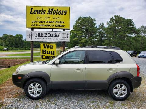 2007 Hyundai Tucson for sale at Lewis Motors LLC in Deridder LA