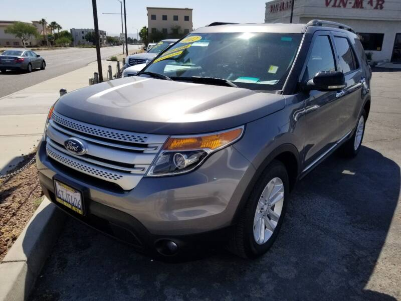 2012 Ford Explorer for sale at Vin - Mar Auto in Victorville CA