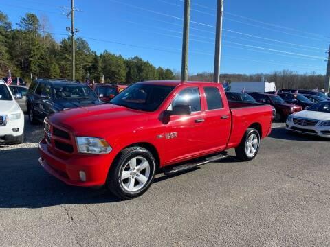 2014 RAM Ram Pickup 1500 for sale at Billy Ballew Motorsports in Dawsonville GA