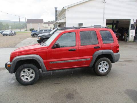 2002 Jeep Liberty for sale at ROUTE 119 AUTO SALES & SVC in Homer City PA