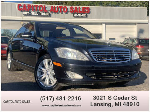 2009 Mercedes-Benz S-Class for sale at Capitol Auto Sales in Lansing MI