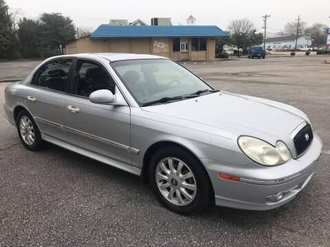 2004 Hyundai Sonata for sale at Cherry Motors in Greenville SC