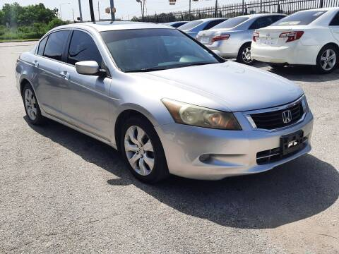 2008 Honda Accord for sale at ACE AUTOMOTIVE in Houston TX