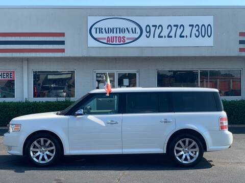 2010 Ford Flex for sale at Traditional Autos in Dallas TX