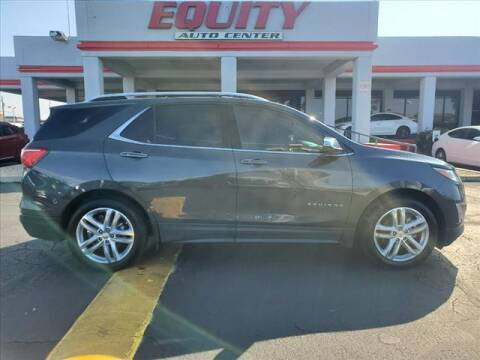 2018 Chevrolet Equinox for sale at EQUITY AUTO CENTER in Phoenix AZ