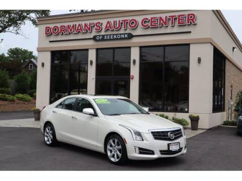2013 Cadillac ATS for sale at DORMANS AUTO CENTER OF SEEKONK in Seekonk MA