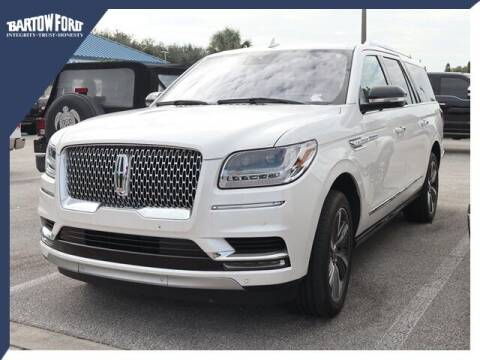 2019 Lincoln Navigator L for sale at BARTOW FORD CO. in Bartow FL