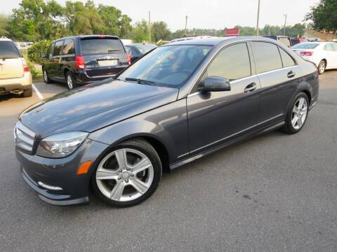 2011 Mercedes-Benz C-Class for sale at Max Auto Sales in Sanford FL