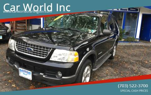 2004 Ford Explorer for sale at Car World Inc in Arlington VA