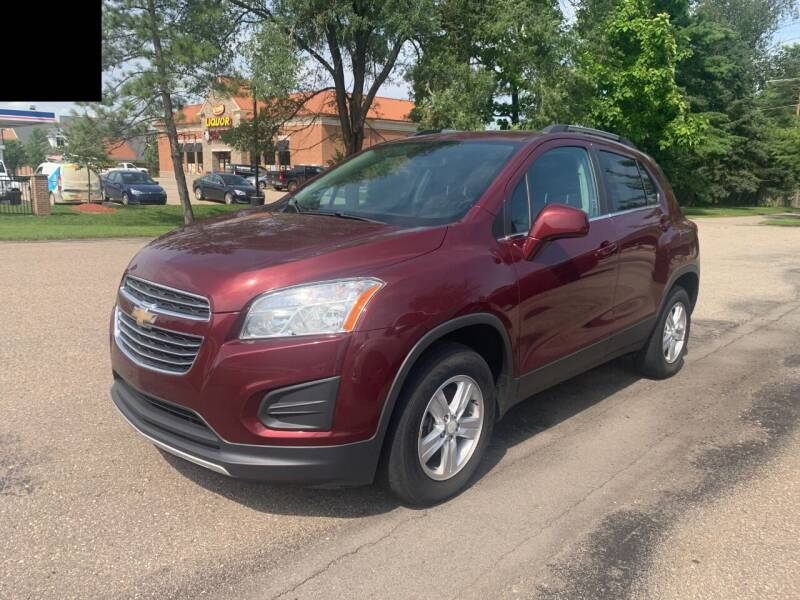 2016 Chevrolet Trax for sale at Leonard Enterprise Used Cars in Orion Township MI
