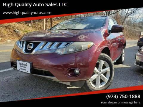 2009 Nissan Murano for sale at High Quality Auto Sales LLC in Bloomingdale NJ