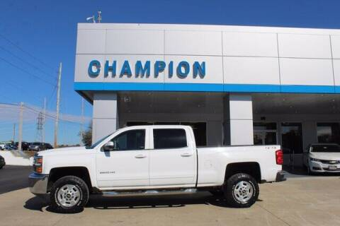 2015 Chevrolet Silverado 2500HD for sale at Champion Chevrolet in Athens AL
