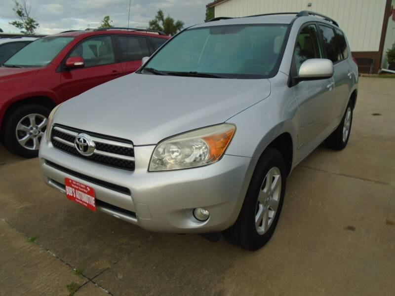 2008 Toyota RAV4 for sale at BOBS AUTOMOTIVE INC in Fairfield IA