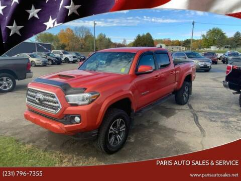 2017 Toyota Tacoma for sale at Paris Auto Sales & Service in Big Rapids MI